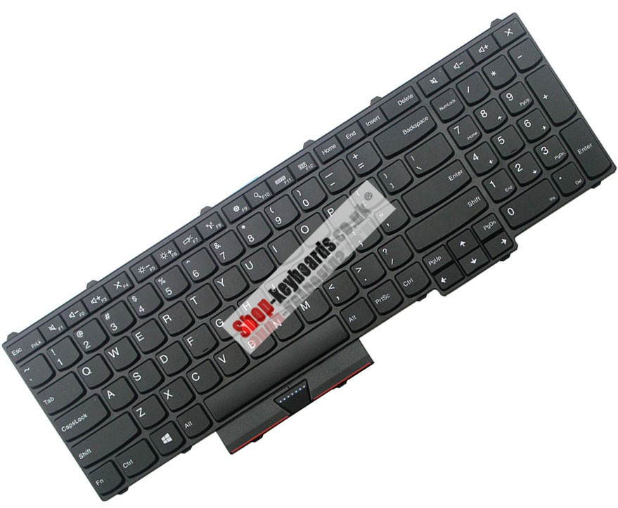 ORIGINAL Lenovo Thinkpad p52 Series Keyboard US,UK,GR,FR,LA,SP,NE